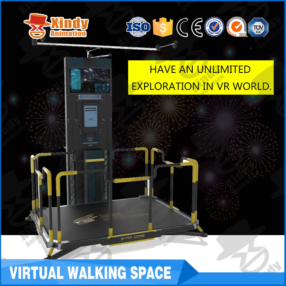 2017 mini design vr space with SASO and CE Certificated 9d vr simulator game machine