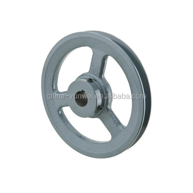 ISO9001 Hot Selling Professional Steel Pulley Wheel