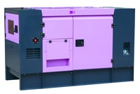20KVA Diesel generator with soundproof canopy, denyo generator