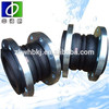 oil resistant double sphere flanged rubber expansion joints