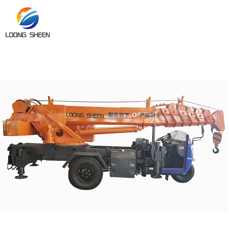 3 Ton 5 Ton Pickup Truck Mounted Crane For Sale In Qatar
