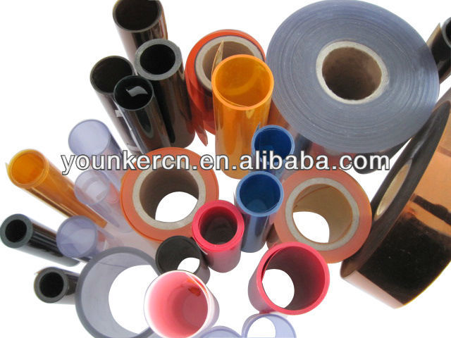 Russia Hot Sale Rigid Clear Pharma PVC Film In Rolls For Blister Pack