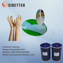 RTV2 Silicone Rubber for Hands Mould Making