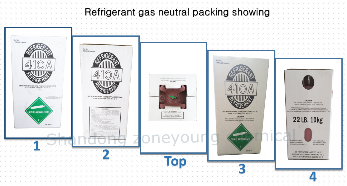 HFC R134a refrigerant,R134a gas,12 kg and 13.6 kg cylinder packing