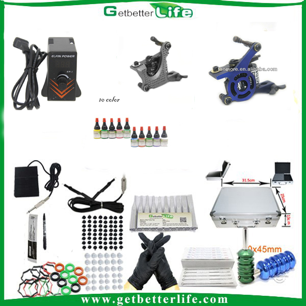 2014getbetterlife wholesale tattoo kits for starters beginner