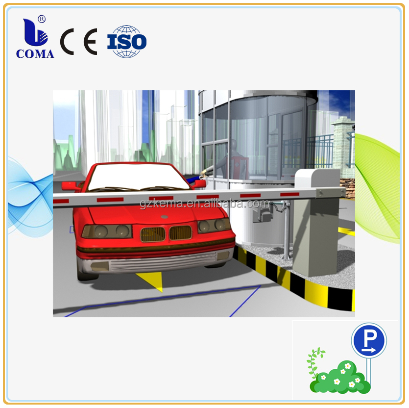 RFID Tag automatic open gate parking management system