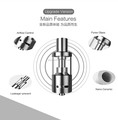 GS & LSS L50 Cermic Wick Tank for box mod