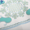 Alibaba New Design Embroidery Faul Leather