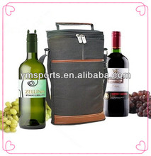2bottles of Wine Travel Carrier nylon cooler bag