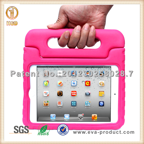 Manufacturer wholesale hard handle design smart cover for ipad mini 4
