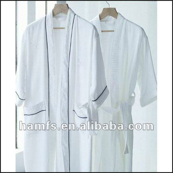 Fabric Cotton Cool Night Gowns For Men
