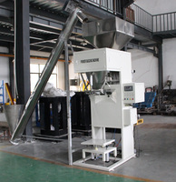 cassava starch packing machine with conveyor belt