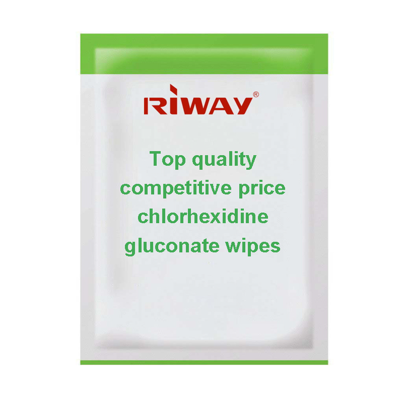 Top quality competitive price chlorhexidine gluconate wipes