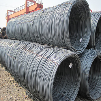 SAE1008,SAE1018 steel wire rod coil from china