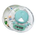 pill box timer easy-taking mini medication reminder alarm