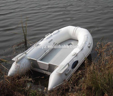 Liya 2m-3.6m rubber Korea pvc inflatable boat for sale