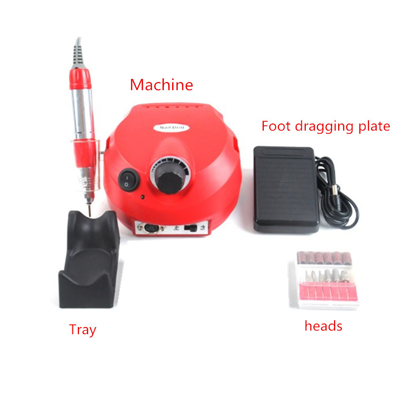 Hot Sell Nail Drill JD500 For Nail Beauty Salon Use