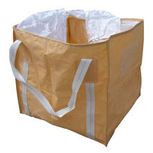 firewood big bag 1000kg/flat bottom big jumbo sacks for packing