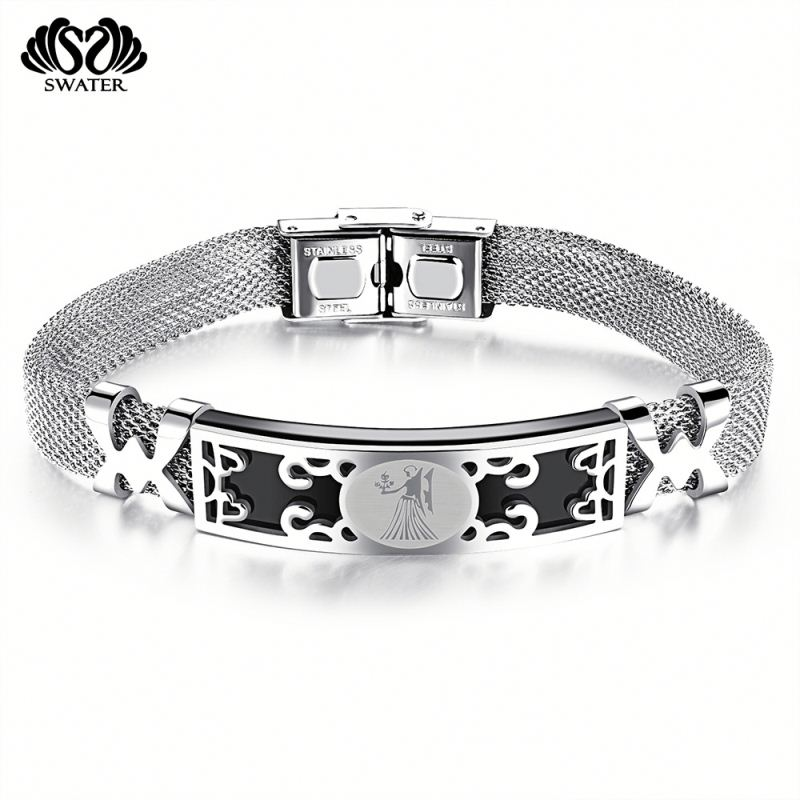 Fashion Jewelry Mens Stainless Steel Teenage Aries Bracelets