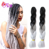 cheap beauty ombre angels synthetic hair jumbo braid,jumbo hair braid,jumbo braid hair for south africa