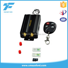 anti theft car alarm system with android IOS app & web based platform TK103 car gps tracker
