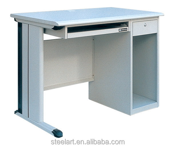 Metal personal computer table mini office desk