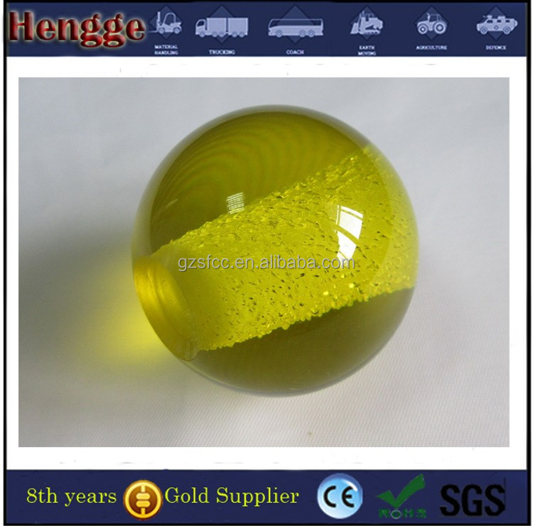 Customize clear and colored glass plexiglass ball clear crystal glass ball