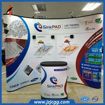 light weight wholesale pop up display stand trade show backdrop