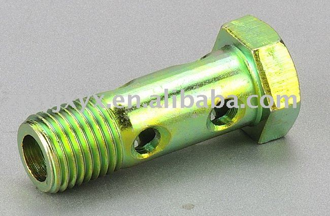 M12*1.5 hose adapters use iron or brass