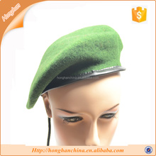 Red or Green Military Wool Beret