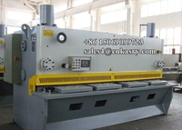 SHANDONG KASRY CNC Hydraulic Guillotine Motorized Shearing Machine , Placa De Metal , Price Mild Steel Plate 6mm Plate