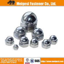 China Manufacture Supply DIN1587 with high quality good price carbon steel zinc plated crown nut