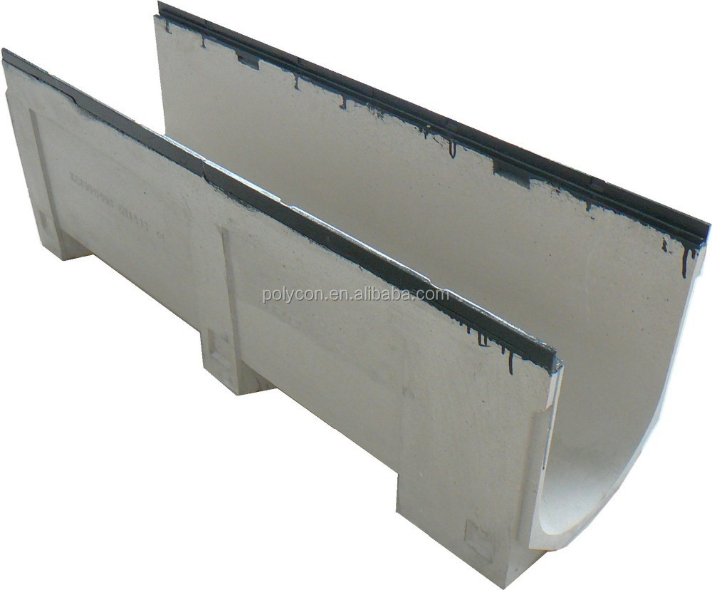 Europe Standard Polymer Concrete Water Channel