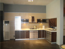 Easy fitted apartment china kitchen cabinet/small kitchen cabinet from factory