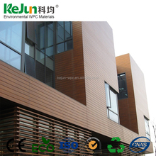 Long lifetime WPC wall panel /anti-uv composite exterior wall siding/waterproof wpc wall cladding