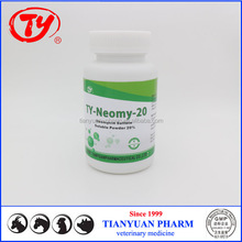 Vet medicine 20% Neomycin Sulfate for poultry with neomycin production line