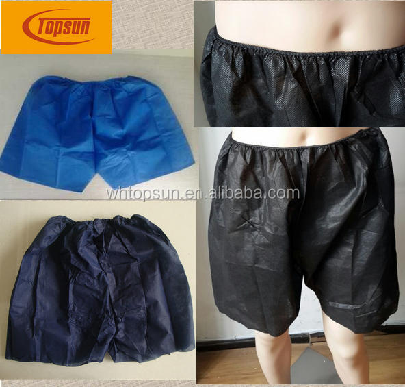 men's disposable boxer brief underwear