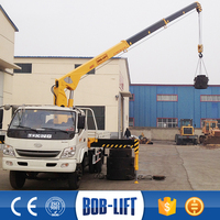 Truck Mounted 5 ton Hydraulic Crane for Sale SQ5SA2