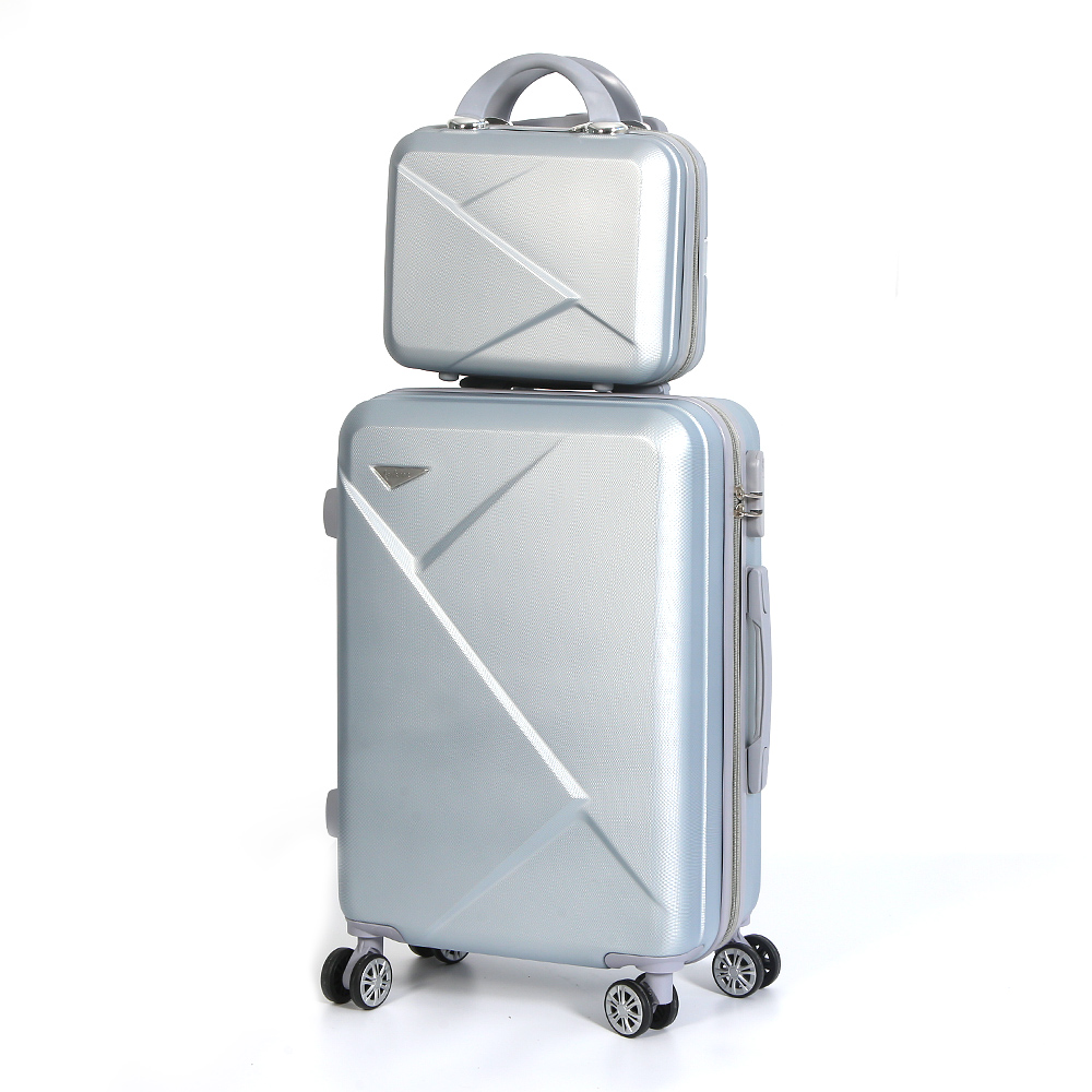New 2019 <strong>ABS</strong> 4 pieces 14 20 24 28 inch travel bags luggage set
