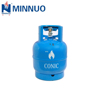 3kg empty mini cooking lpg, propane ,butane cylinder tank bottle for south Africa market