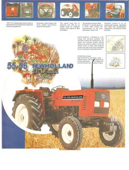 Fiat New Holland 55-56 tractors