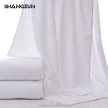 Custom design luxury hotel fade resistant towels cotton white bath towel