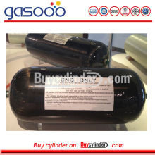 Composite CNG Fully Carbon Fiber Wrapped Aluminum Gas Cylinder
