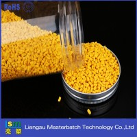 high quality plastic dana pe/pvc/pet plastic granule pp polypropylene carbon color master batch batches yellow
