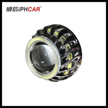 35W H1 bulb car headlight bi-xenon projector lens