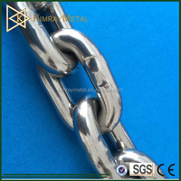 Welded Rigging Stainless Steel Link Chain