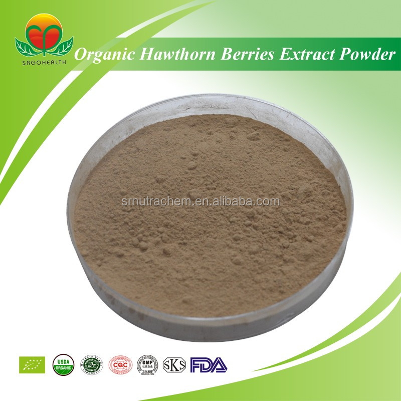 Manufacture Supply Organic Hawthorn Berries Extract Powder