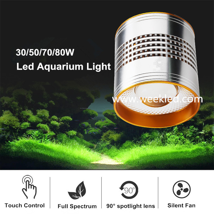Factory direct sale freshwater planted aquarium 12000k led aquarium light
