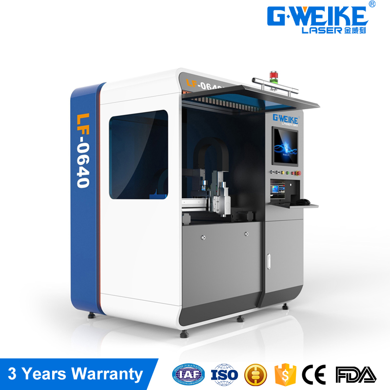high precision and high quality 500w LF0640 small scale metal fiber laser cutting machines for glasses and watches making