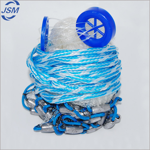 Wholesale hand casting nylon monofilament fishing net